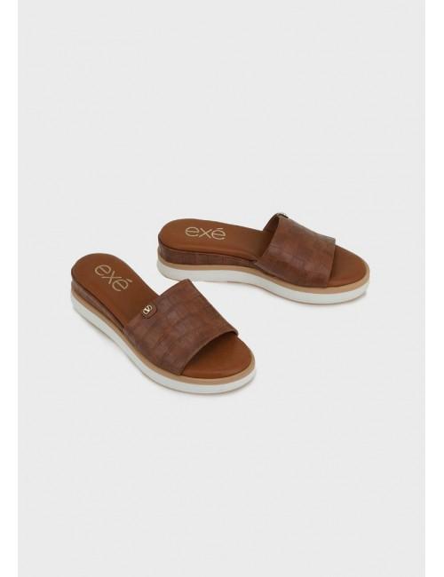 Γυναικείο παπούτσι flat EXE M47003802208 ΤΑΜΠΑ ΚΡΟΚΟ